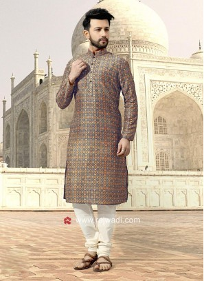 Attractive Printed Kurta Set