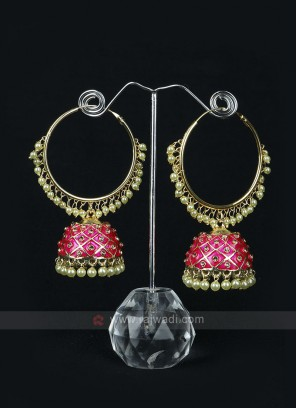 Attractive Rani Color Earrings