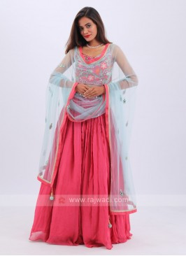 Attractive Red Lehenga Choli