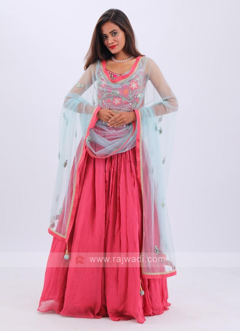 Attractive Red Lehenga Choli