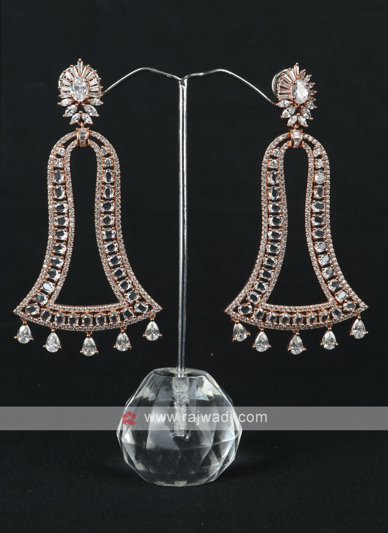 Attractive Rose Gold Earrings