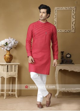 Attractive Rust Color Kurta Set