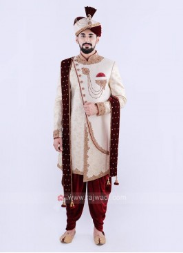 Attractive Sherwani For Groom