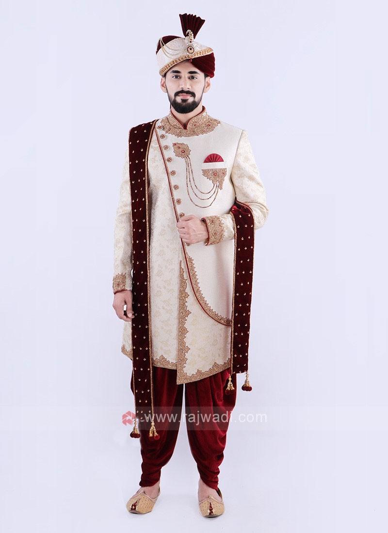 Attractive Sherwani For Groom