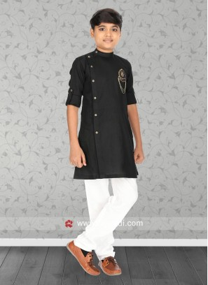 Attractive Black Kurta Set
