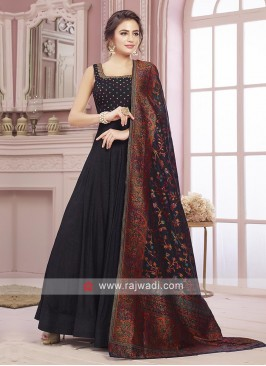 Attractive Silk Designer Anarkali Suit