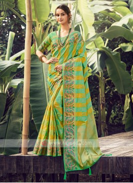 Attractive Weaving Work Saree