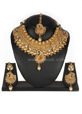 Attractive Wedding wear Necklace Set