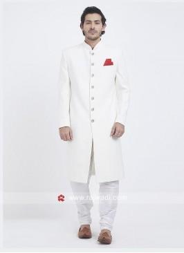 Attractive White Indo Western