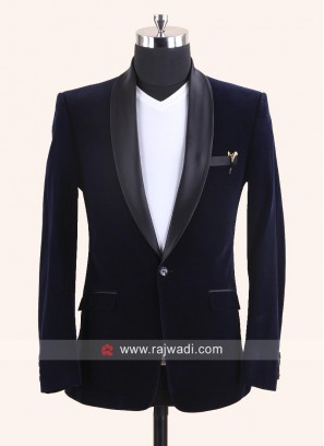 Attrective Blue Blazer For party