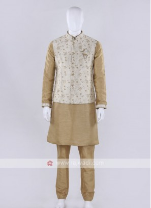 Awesome cream color nehru jacket