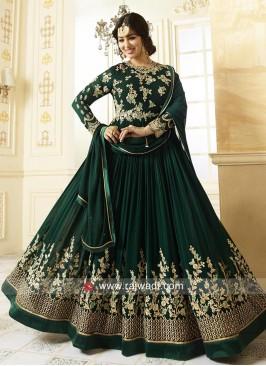 Ayesha Takia Salwar Kameez in Green