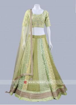 Banarasi Brocade Designer Lehenga Set