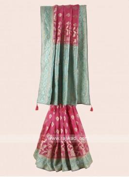 Banarasi Chiffon Wedding Saree
