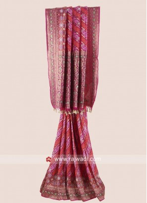 Banarasi Chiffon Wedding Saree