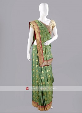 Banarasi Jacquard Sari with Blouse