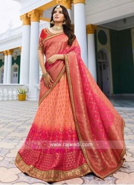 Banarasi Resham Work A Line Lehenga