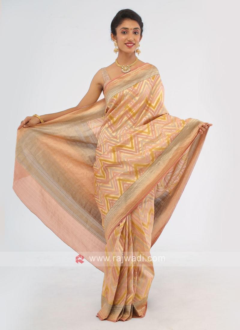 Banarasi Shimmer Silk Saree