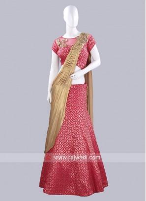 Banarasi Silk Designer Saree Lehenga