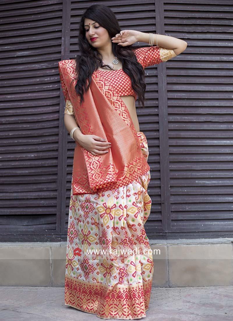 Banarasi Silk Designer Woven Saree