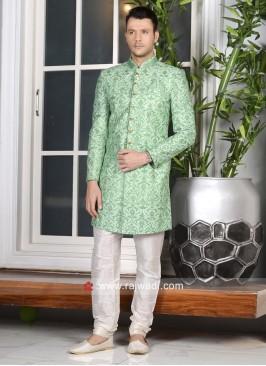 Banarasi Silk Fabric Indo Western