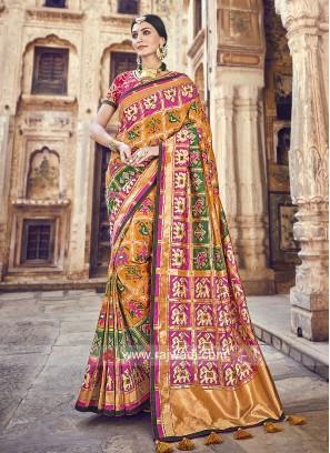 Banarasi Silk Festive Saree