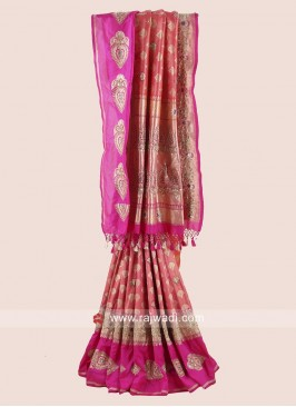 Banarasi Silk Gota Patti Saree