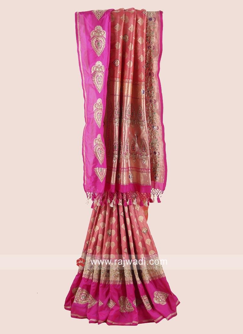 Banarasi Silk Gota Patti Saree