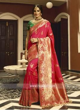 Banarasi Silk Heavy Saree with Blouse