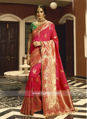 Banarasi Silk Heavy Saree with Blouse
