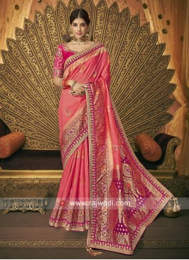 Banarasi Silk Heavy Wedding Saree