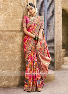 Banarasi Silk Pita Work Heavy Saree