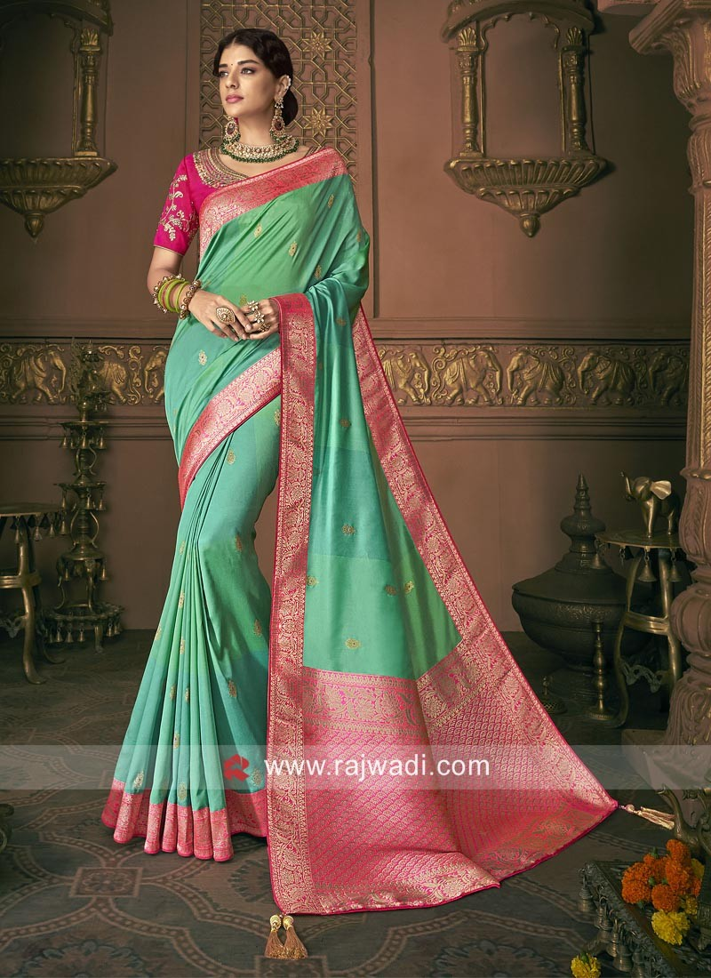 Banarasi Silk Reception Saree
