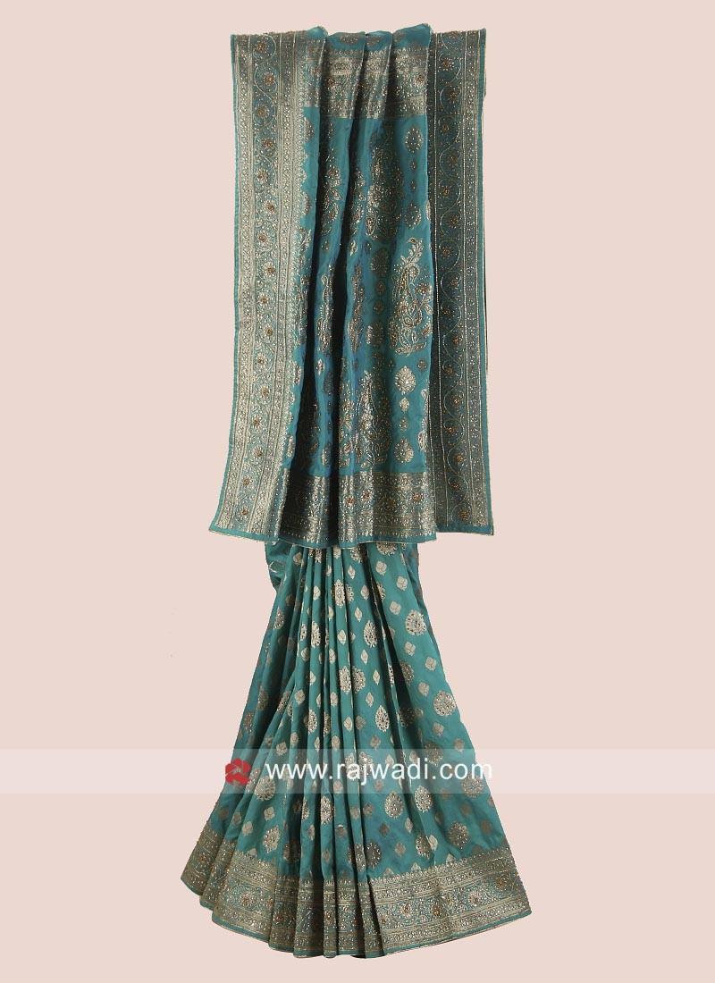 Banarasi Silk Saree with Blouse