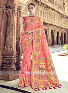 Banarasi Silk Saree with Blouse