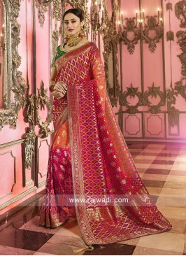 Banarasi Silk Shaded Saree