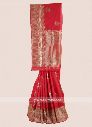 Banarasi Silk Stone Work Saree