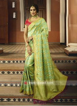 Banarasi Silk Traditional Saree