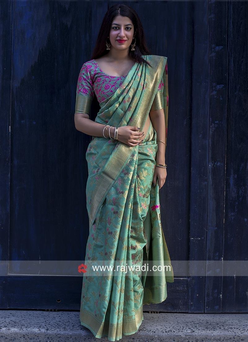 Banarasi Silk Weaved Saree