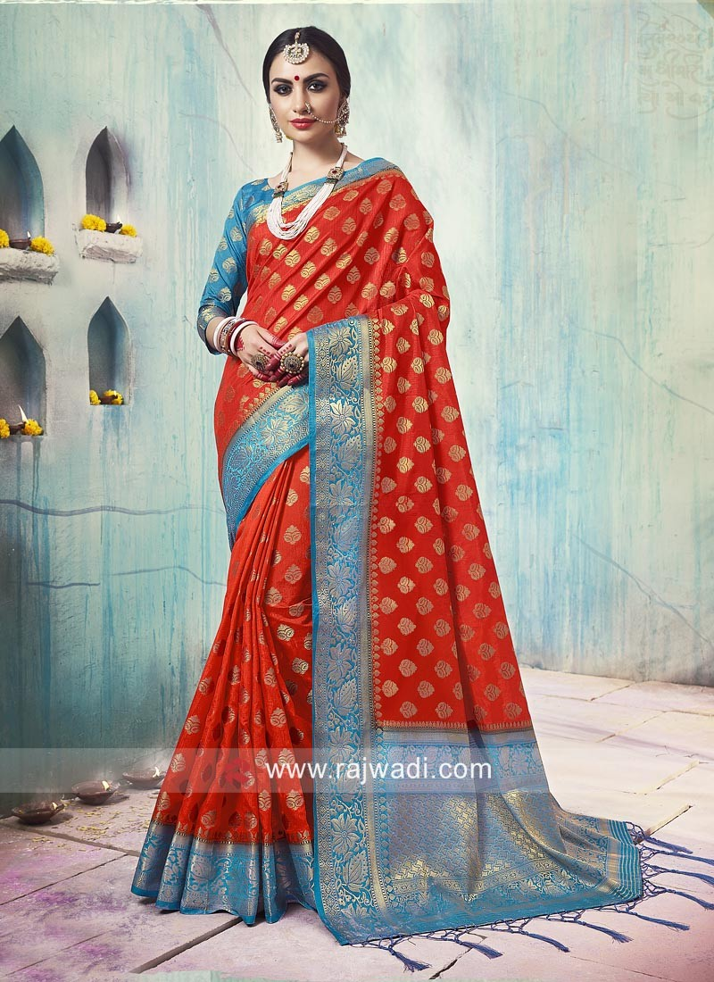Banarasi Silk Weaved Saree