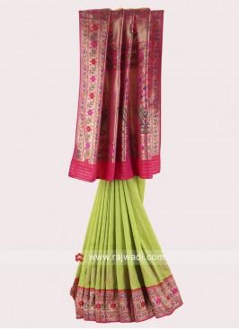 Banarasi Silk Wedding Saree
