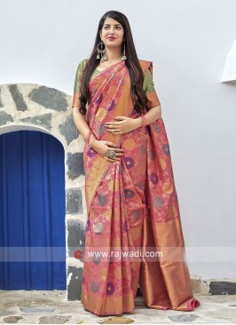 Banarasi Silk Wedding Saree
