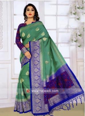 Banarasi Silk Wedding Weaved Saree