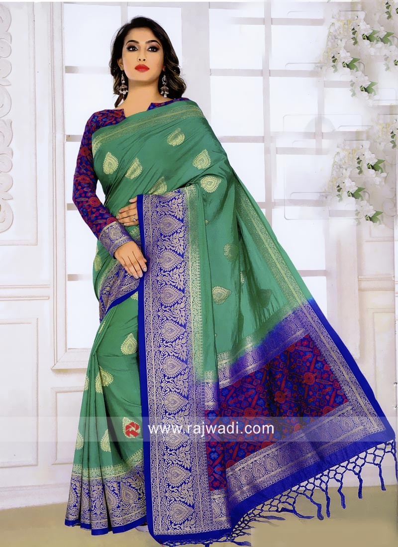 Banarasi Silk Wedding Weaved Saree