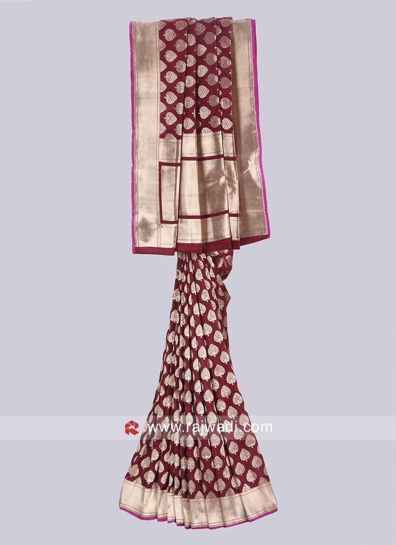 Banarasi Silk Zari Work Saree