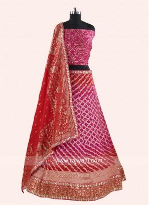 Bandhani Designer Lehenga Choli