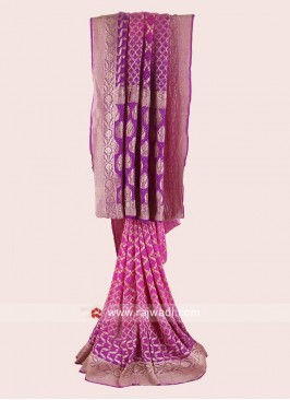 Bandhani Wedding Saree