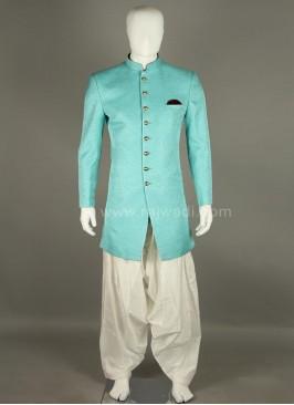 Bandhgala Silk Indo Western