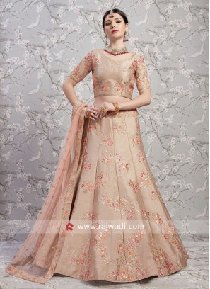Banglori Silk Embroidered Lehenga Choli