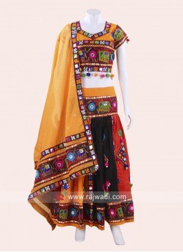 Kutchi Work Chaniya Choli Set
